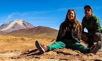 La 'fuga' a passo lento di Jessica e Luca prosegue in Sud America