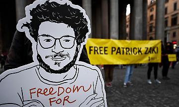 Sassoli, per Patrick Zaki compleanno in galera da innocente