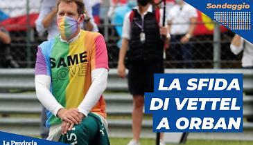 F1, maglia arcobaleno: la sfida al premier Orban. Ha fatto bene Vettel?