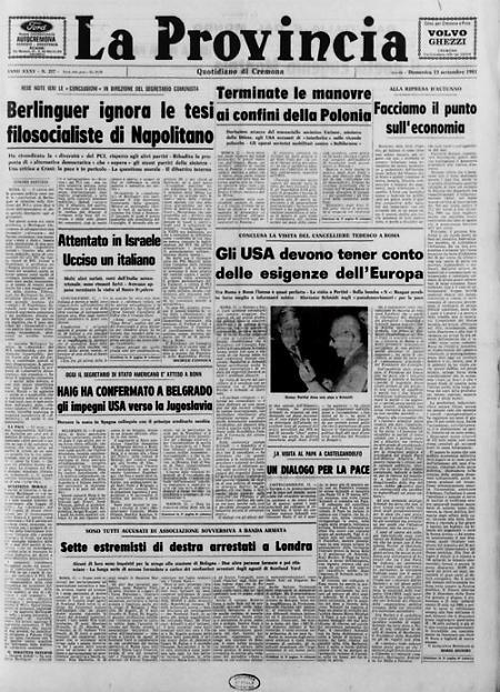 Berlinguer ignora le tesi filosocialiste di Napolitano Terminate le manovre ai confini della Polonia
