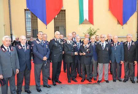 Il Comandante Tullio Del Sette in visita alle caserme delle zone terremotate