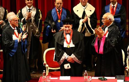 Laurea honoris causa al principe Alberto di Monaco in Ecologia Marina,