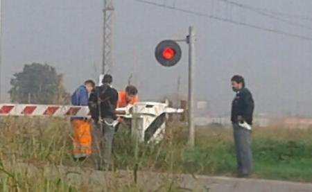 Manifestazione sui binari, ferma per un'ora la linea Napoli-Roma