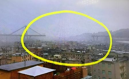 Ponte Morandi Genova, testimone: