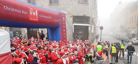 Le immagini della prima Christmas Run di Cremona