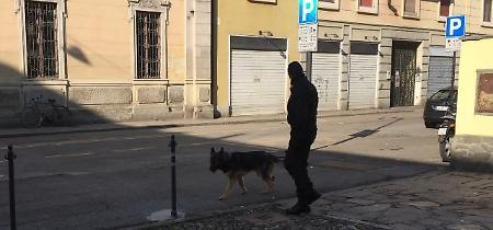 Le foto dell'intervento dei carabinieri alla scuola Anguissola