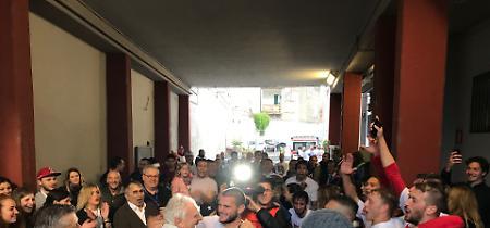 FOTO La Cremonese in Serie B