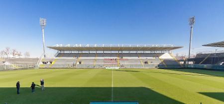 FOTO Lo stadio Zini di Cremona completamente rinnovato