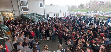 FOTO Cremonese, la festa per il 25esimo del trionfo di Wembley e i 115 anni di storia