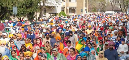 FOTO Sikh, Festa di primavera 2018 a Cremona