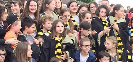 FOTO Soncino 9 e 3/4, la carica dei piccoli Harry Potter