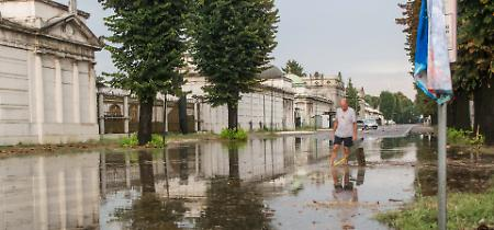 FOTO Nubifragio a Cremona di domenica 12 agosto: allagamenti