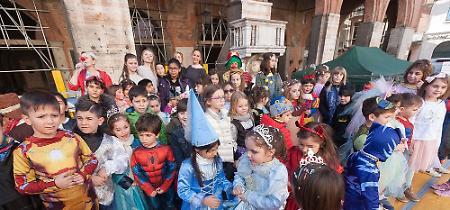 FOTO Carnevale 2019, la grande festa in piazza del Comune a Cremona