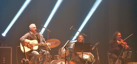 FOTO Il concerto di Davide Van De Sfroos a Casalmaggiore
