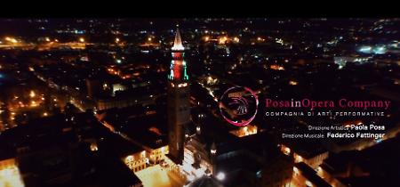 VIDEO Posainopera, uno spettacolo sul web per omaggiare Cremona tra musica, danza e recitazione