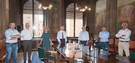 FOTO La visita dell'assessore Rolfi in provincia di Cremona