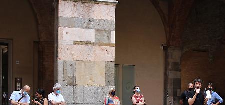 FOTO CremonAiuta, le immagini della cerimonia in cortile Federico II