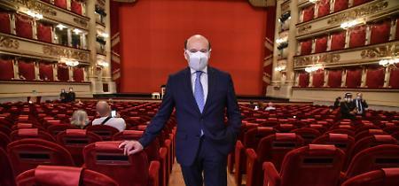 FOTO La Scala riapre dopo 133 giorni di stop e accoglie il pubblico