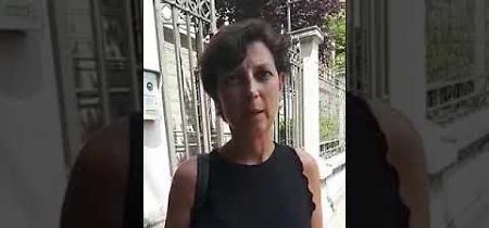 VIDEO L'avvocato Elena Pisati, che tutela Isabelle Audrey mamma di Gloria, all'uscita dalla caserma dei carabinieri