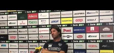 Verona-Cremonese: mister Rastelli: «Ciofani in campo? Sto valutando»
