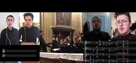 VIDEO Omaggio del coro del Liceo musicale Stradivari alle vittime del Covid-19