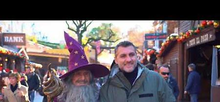 VIDEO Christian Vieri e il Grande Mago di Gardaland Magic Hotel