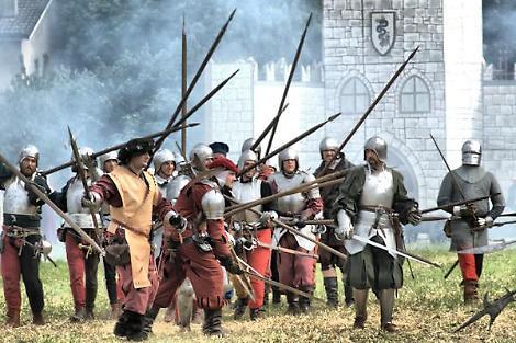 Rievocazione della storica battaglia del 1509 di Agnadello