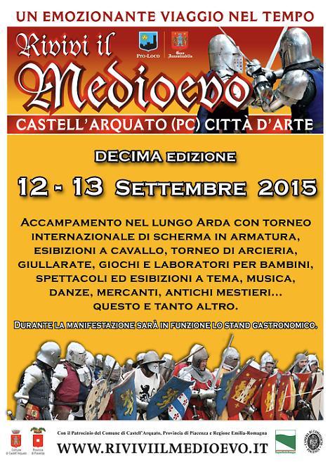 Rivivi il Medioevo a Castell'Arquato