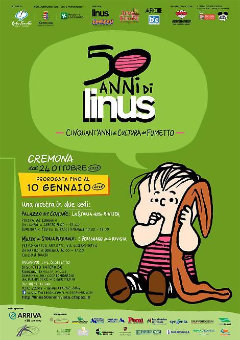 Buon Compleanno Linus Doppia Mostra A Cremona Per I 50 Anni Della