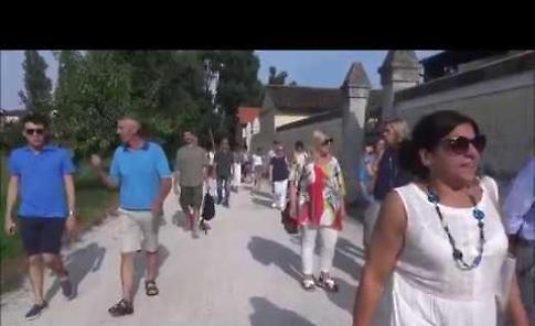 VIDEO L'inaugurazione del Parco Asia al quartiere Zaist