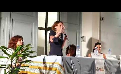 VIDEO Il ministro Elena Bonetti in appoggio alla candidata sindaca Fabrizia Zaffanella