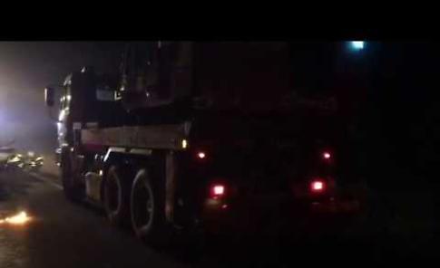 Il video dei soccorsi sul luogo dell'incidente mortale