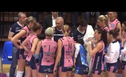 Il video di Pomì Casalmaggiore - Foppapedretti Bergamo 3-1