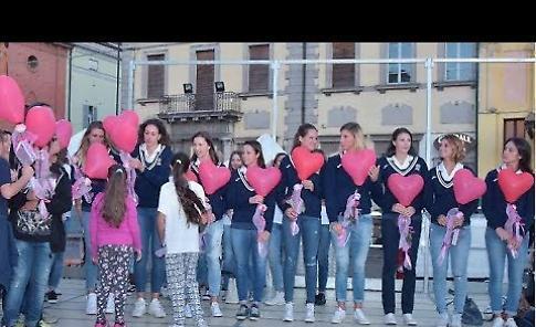 VIDEO Casalmaggiore saluta le ragazze della nuova Pomì