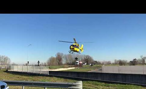 VIDEO L'incidente stradale a Cingia de' Botti