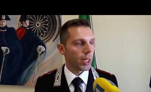 VIDEO Conferenza stampa dei carabinieri sull'inchiesta prostituzione