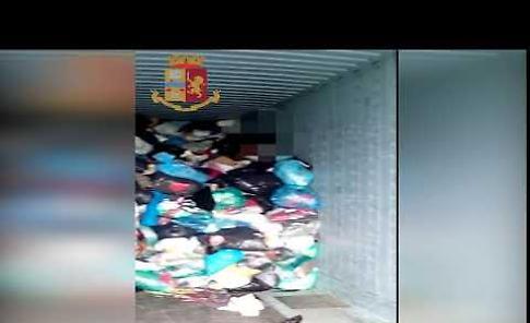 VIDEO 'Stracci d'oro', operazione della polizia contro il caporalato