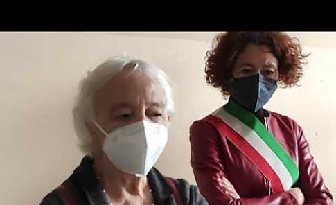 VIDEO Il 25 Aprile a Crema: breve cerimonia al famedio del palazzo comunale
