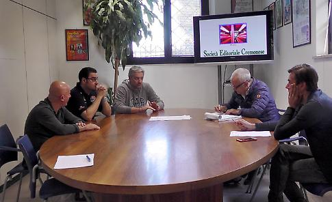 La videointervista a Conti, Lepore e Pancotto della Vanoli, presso il quotidiano La Provincia