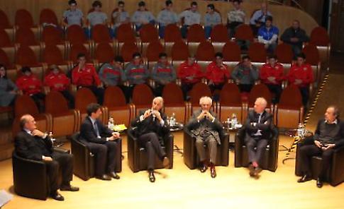 Cremona. Giovanni Malagò, il presidente nazionale del Coni, al convegno 'Sport: formazione, inclusione, opportunità di crescita'