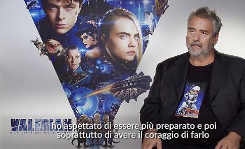 """Besson: """"Era dai tempi del Quinto elemento che volevo fare 'Valerian'"""""""