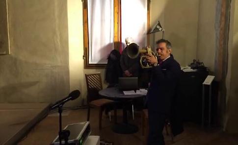 Bologna, Nettuno d'oro a Paolo Fresu: le sue note alla premiazione