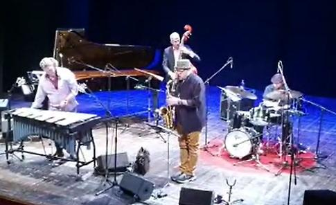 VIDEO Il quartetto di Mark Sherman al Comunale di Casalmaggiore