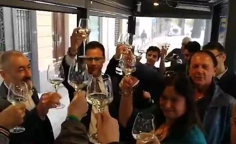 VIDEO Brindisi tra Malvezzi, Ciocca, Zagni e i vertici locali della Lega