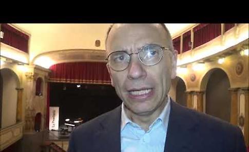 VIDEO Intervista a Enrico Letta, protagonista dell'incontro al teatro Filo di Cremona