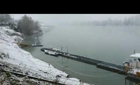 VIDEO Prima neve a Casalmaggiore
