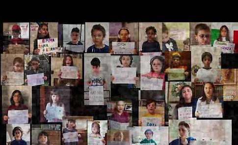 VIDEO Nessun dorma: il canto di speranza di 700 bambini