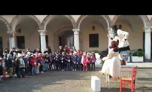 Duecento bambini con il Fatf in piazza Duomo