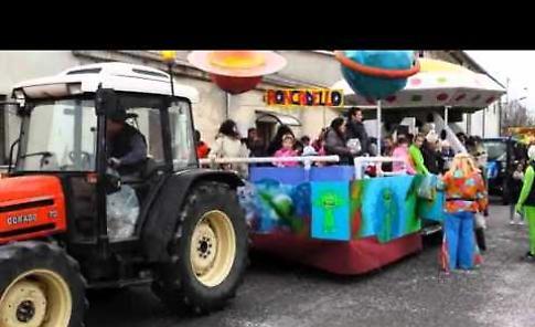 Il video del carnevale di Cicognara e Roncadello