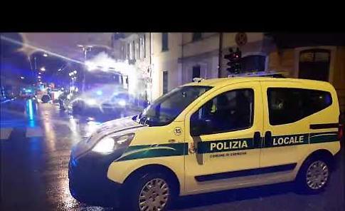 VIDEO L'incendio di via Ghisleri